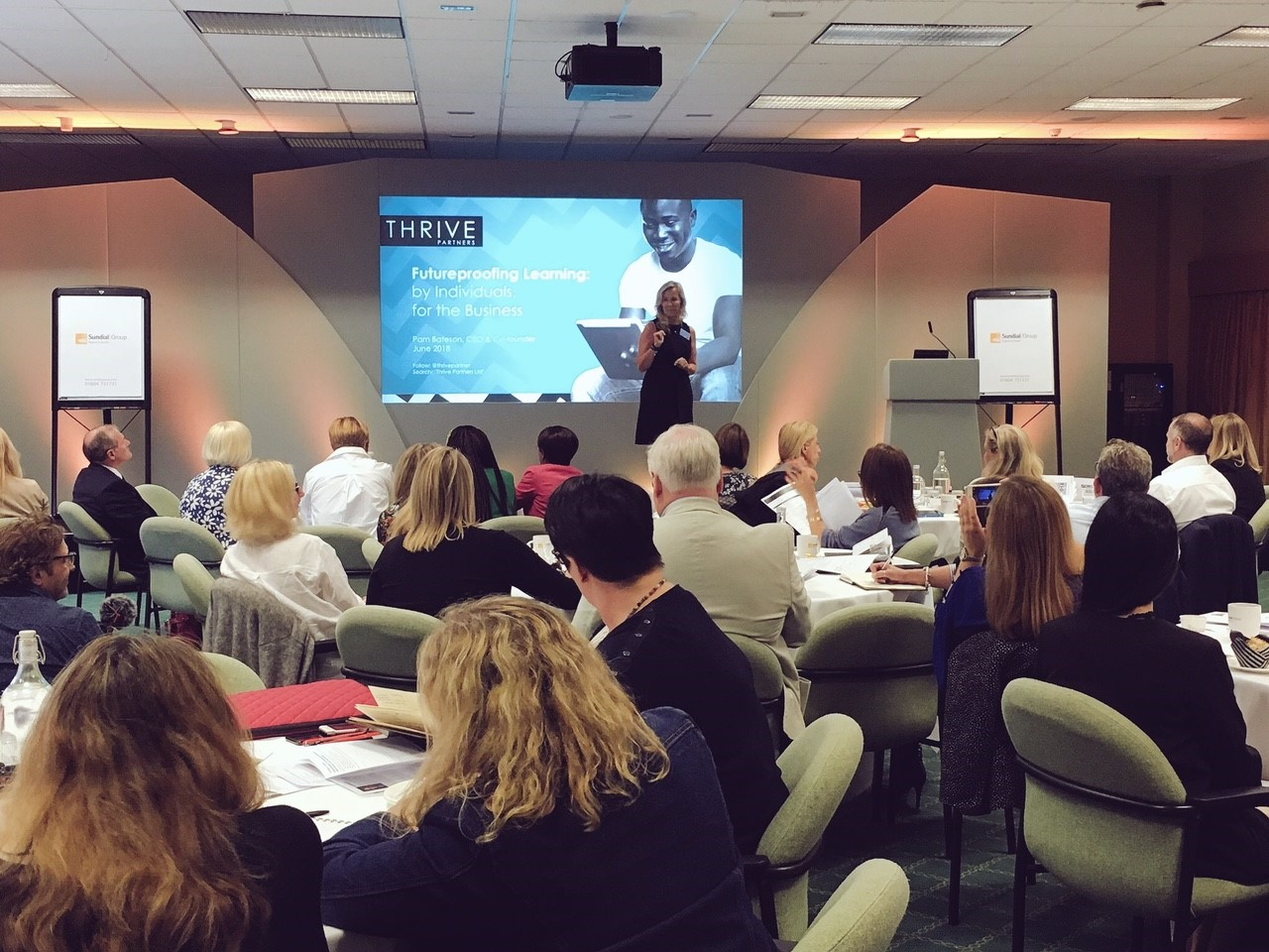 Presenting at the L&D Thought Leaders' Conference (2018)