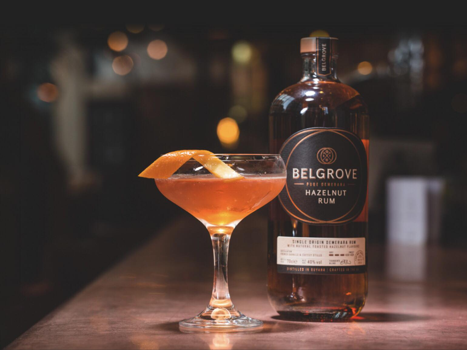 Belgrove Hazelnut Rum - Launch Party 31st Jan 6-8 @ Speak in Code