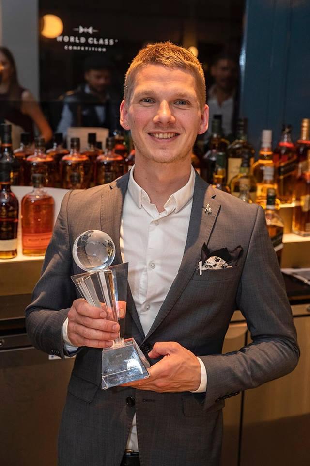 World Class 2018 GB winner - Dan Warren