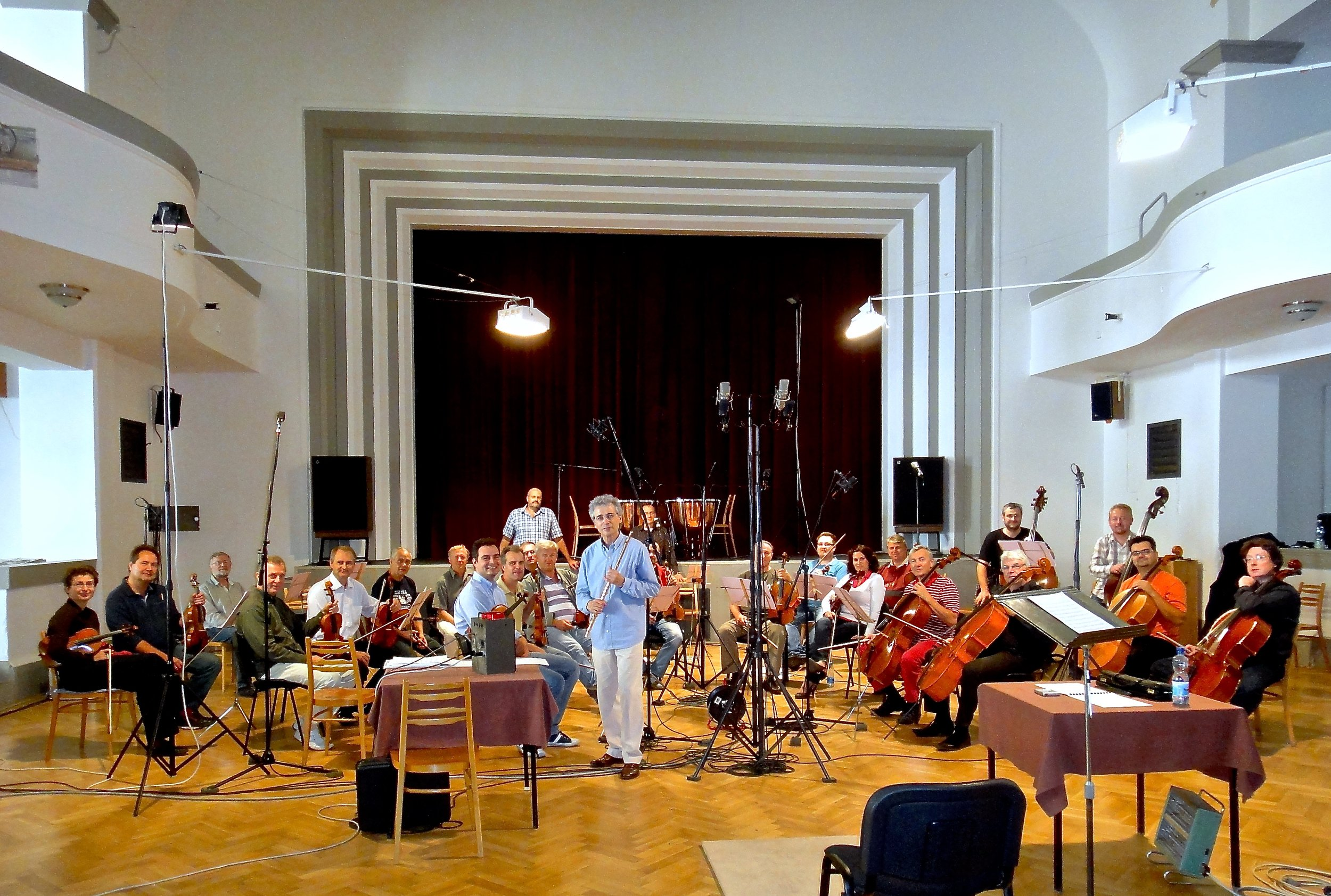 Recording with the Prague Chamber Orchestra (2011)