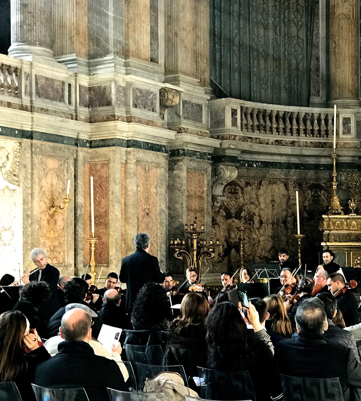 Autunno Musicale 2016 - Reggia di Caserta - Cappella Palatina (Orchestra da Camera di Caserta: Bruno Meier, flauto / Antonino Cascio, direttore)