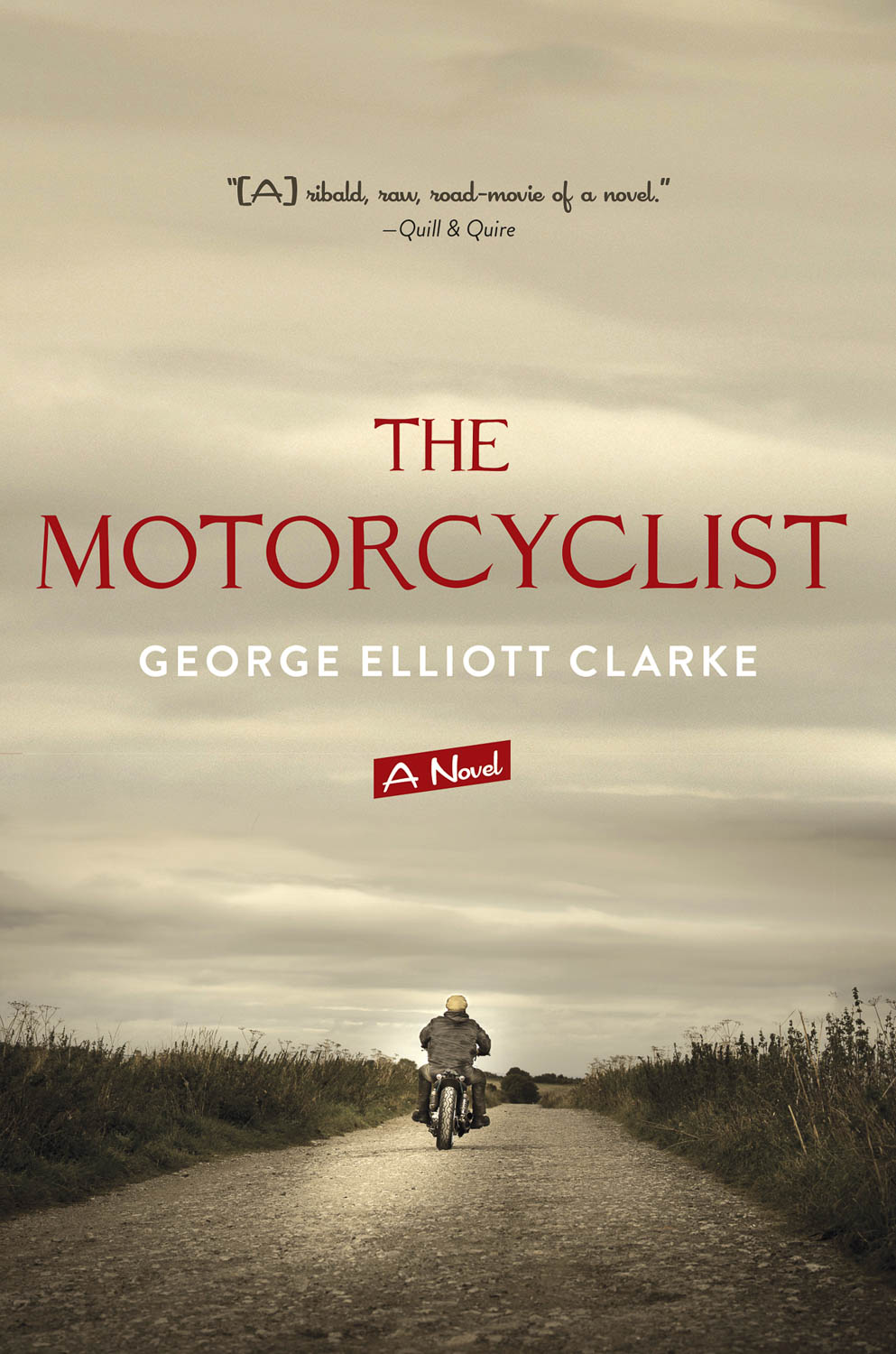 Clarke, The Motorcyclist Book Cover Photograph by Wolf Kettler