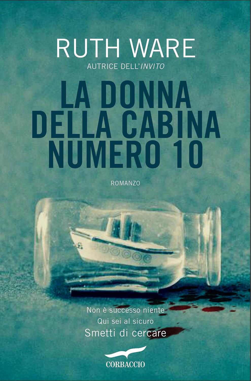 Ware, La donna della cabina numero 10 Book Cover Photograph by Wolf Kettler