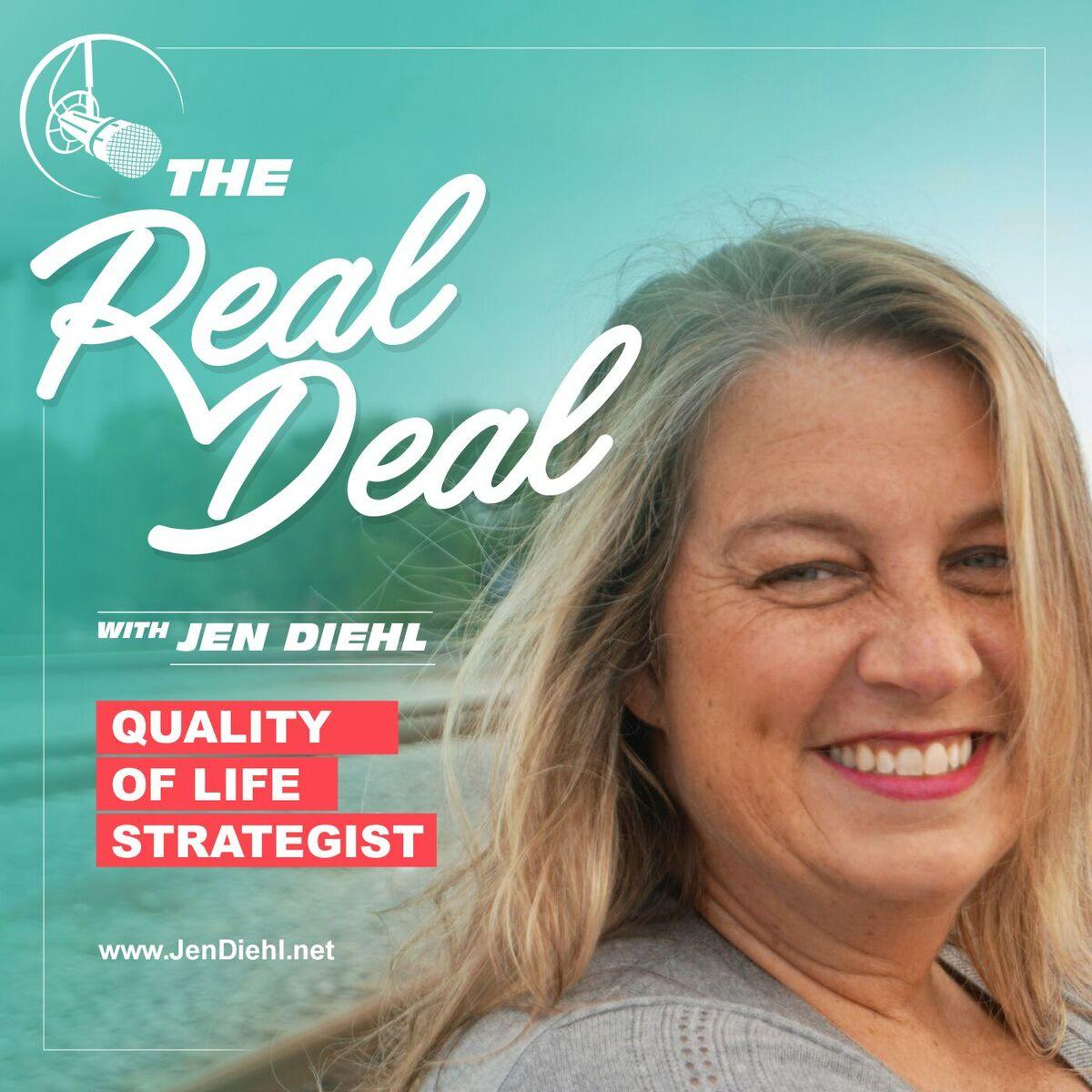 The Real Deal w/Jen Diehl - Producer and Editor—Jeremiah produced and voiced the show theme. The host records episodes and interviews and sends them to us.We take raw files and clean them up, add music and sound effects as needed and hand over a shined up file!