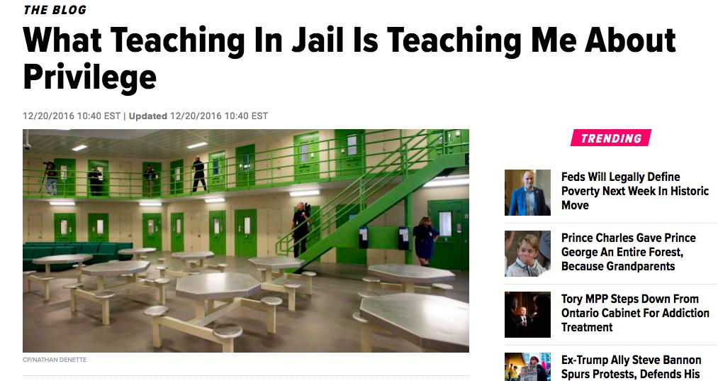 Huffington Post: Privilege