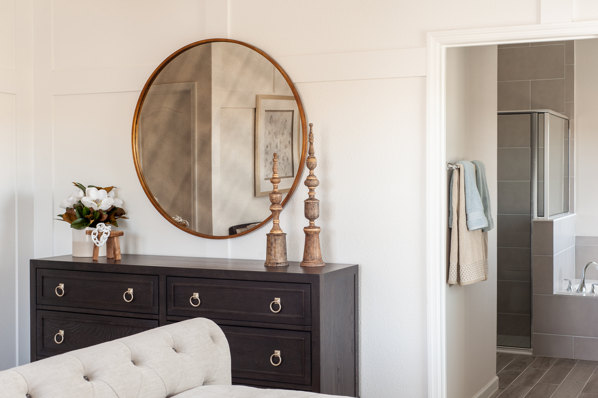 Micamy_Interior Designer_Design_Interior_Model_Merchandising_Owners_Suite_Universal_Furniture_Traditional_Transitional_Dresser_Bronze_Bedroom_Vanity_Gold Mirror.jpg