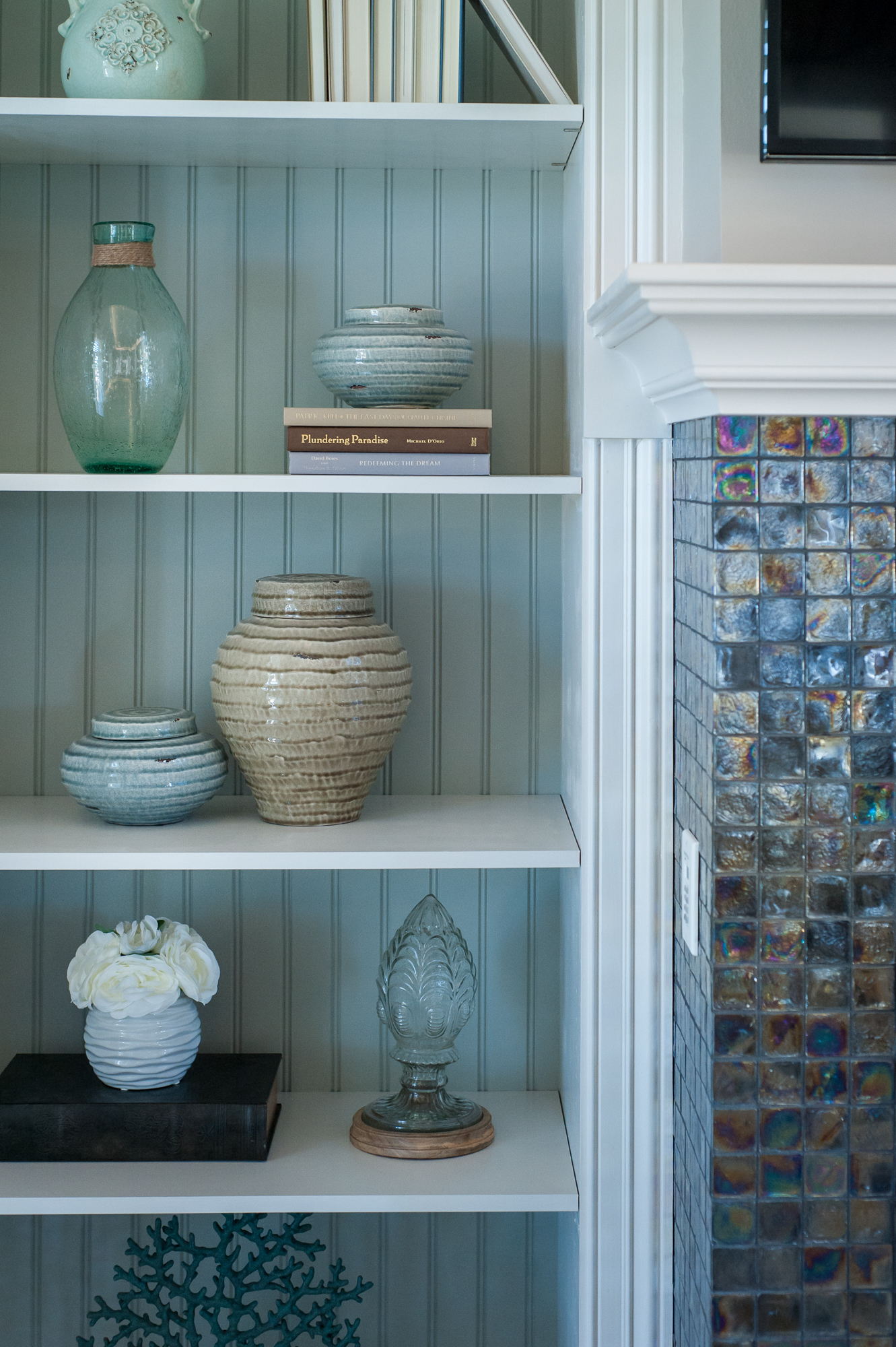 Micamy_Design_Studio_Interior_Design_Artisan_Lakes_Clubhouse_Serene_Coastal_Glass_Mosaic_Tile_Backsplash_Fireplace_SherwinWilliams_Crossville_Blue_.jpg