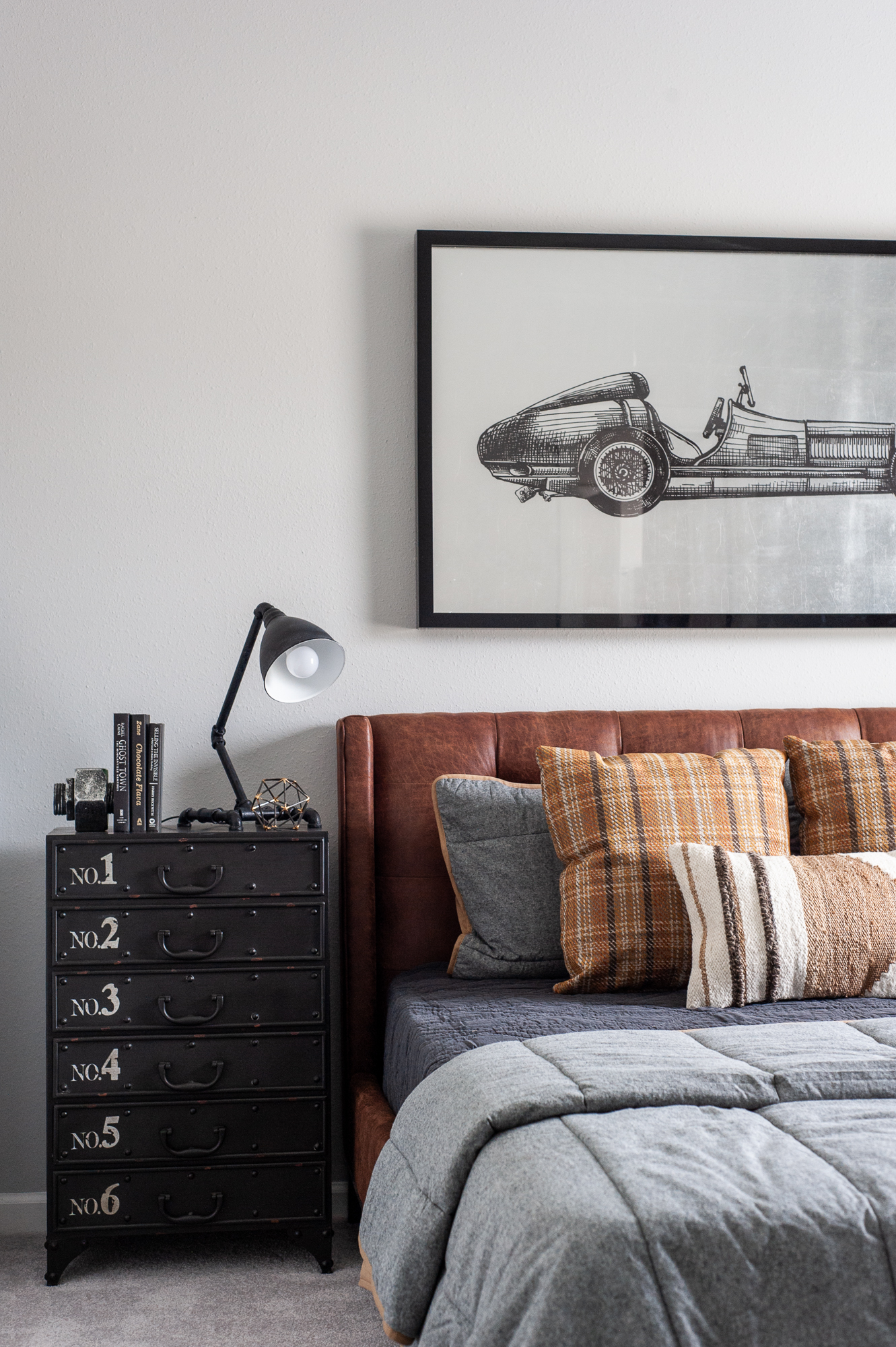 Micamy Design Studio_Model Home_Interior Design_Orchard Cove_Modern Coastal_Universal_Four Hands_McGee & Co_World Market_Wendover_Car Artwork_Leather Bed_Mercana.jpg