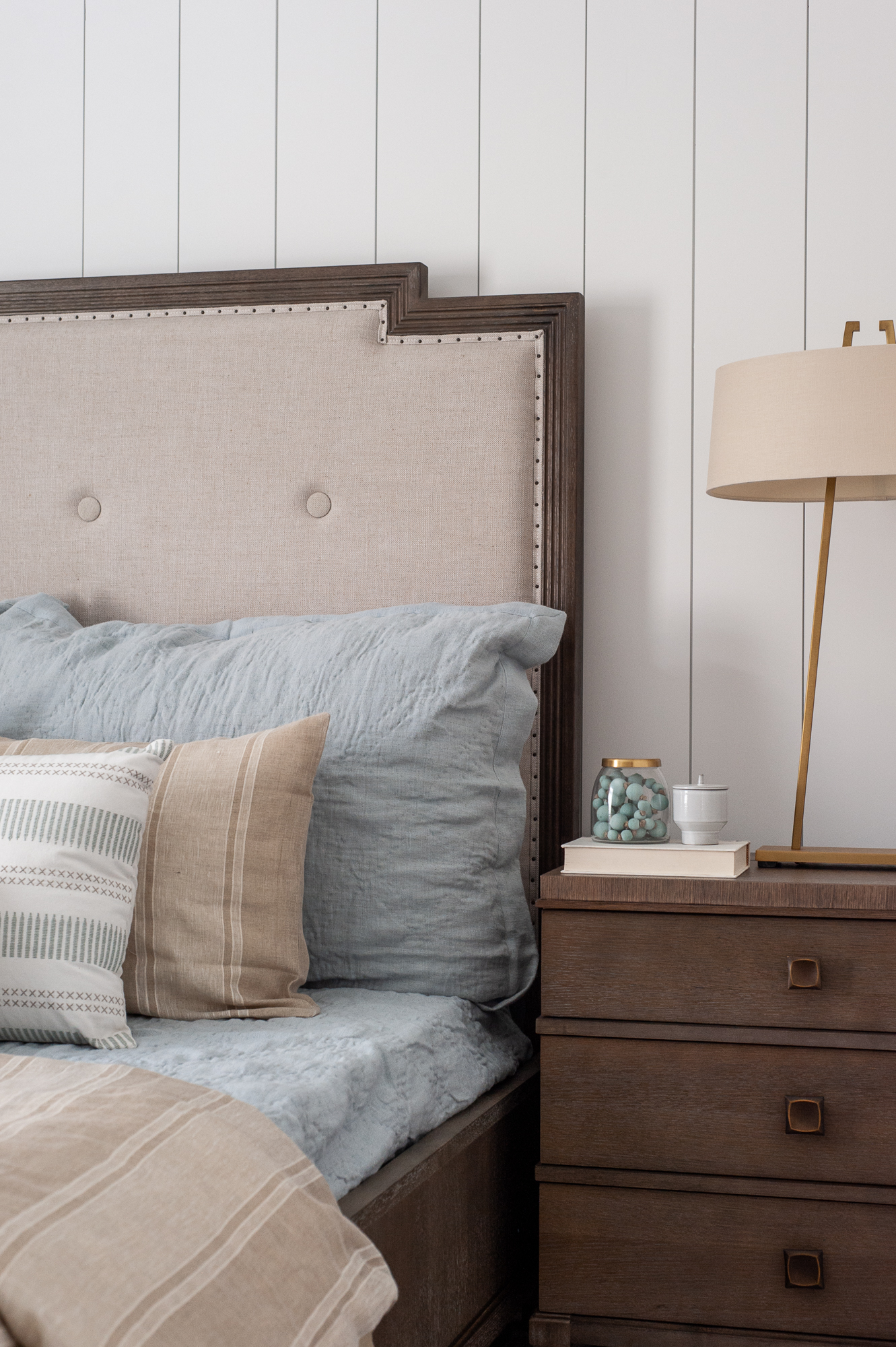 Micamy Design Studio_Model Home_Interior Design_Orchard Cove_Modern Coastal_Universal_Uttermost_Vertical Shiplap_Amity Home_Dutch Euros_Wendover_Guest Suite_Gold.jpg