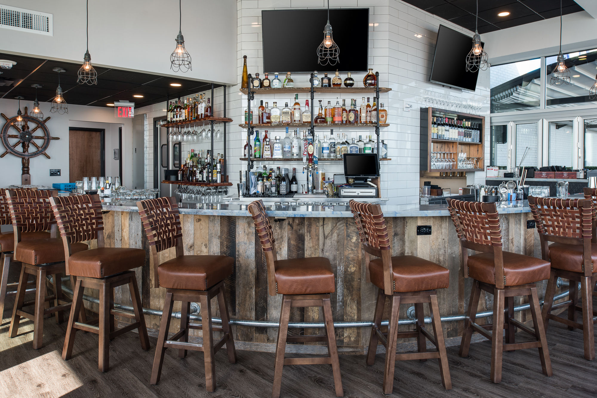 Micamy Design Studio_Interior Design_River and Post_Restaurant_Rooftop_Bar_Industrial_Rustic_Coastal_Riverside_Reclaimed Wood_Blog Style_Styling Accessories_St Johns River_Cocktails (2).jpg