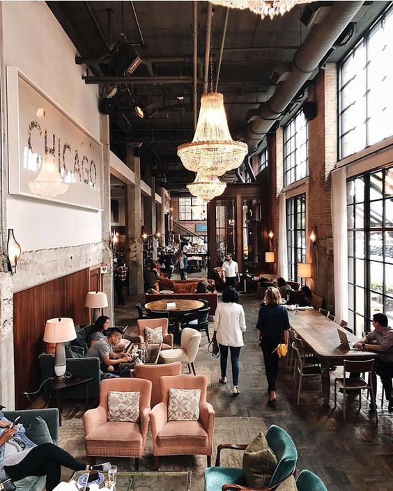 FRIDAY INSPO - We cannot wait to visit this adorable restaurant in The Windy City…