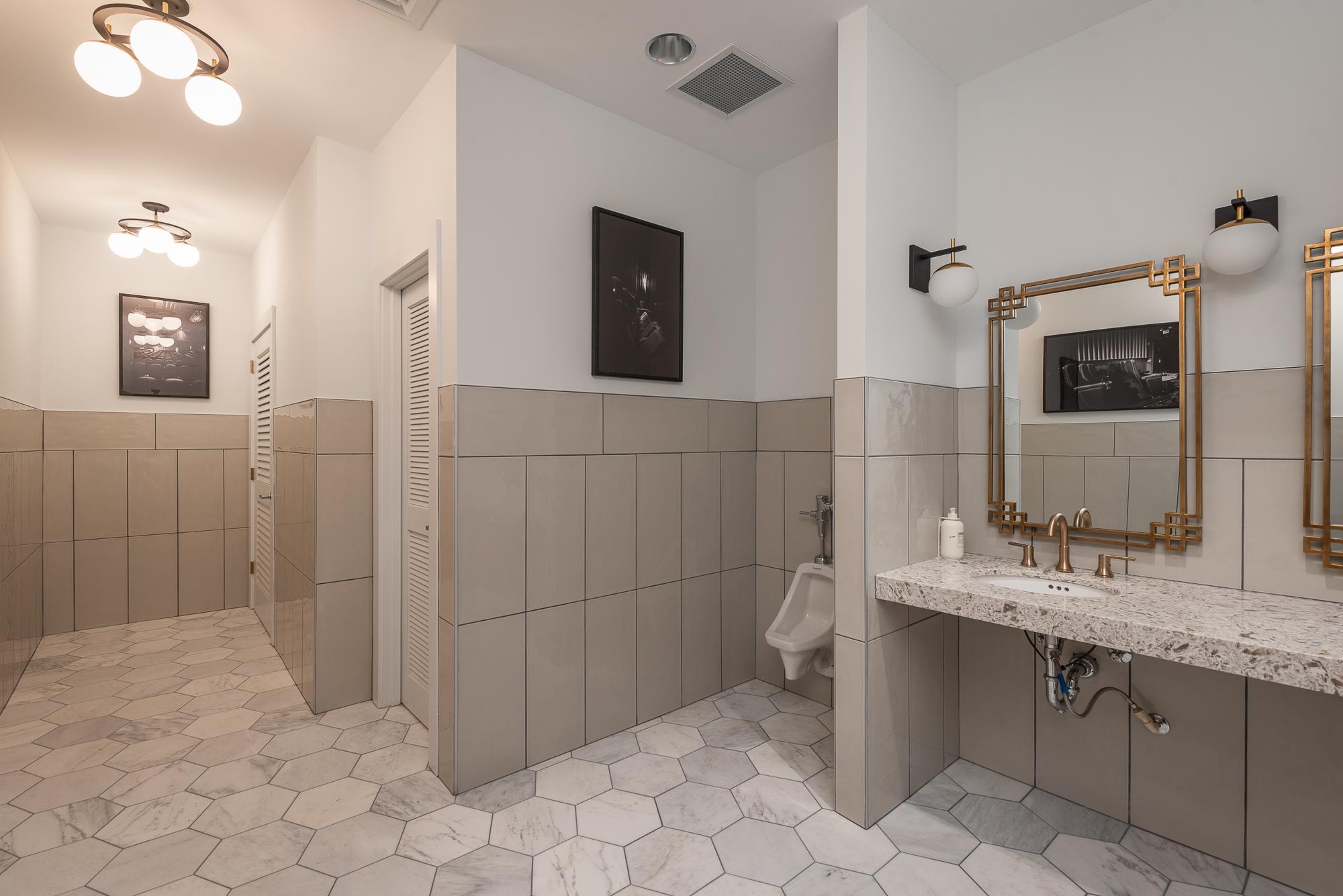 Micamy Design Studio_Interior Design_Clay Theatre_Event Space_Venue_Wedding_Art Deco_Modern_Marble Tile_Decorative Tile_Restroom_Hexagon.jpg