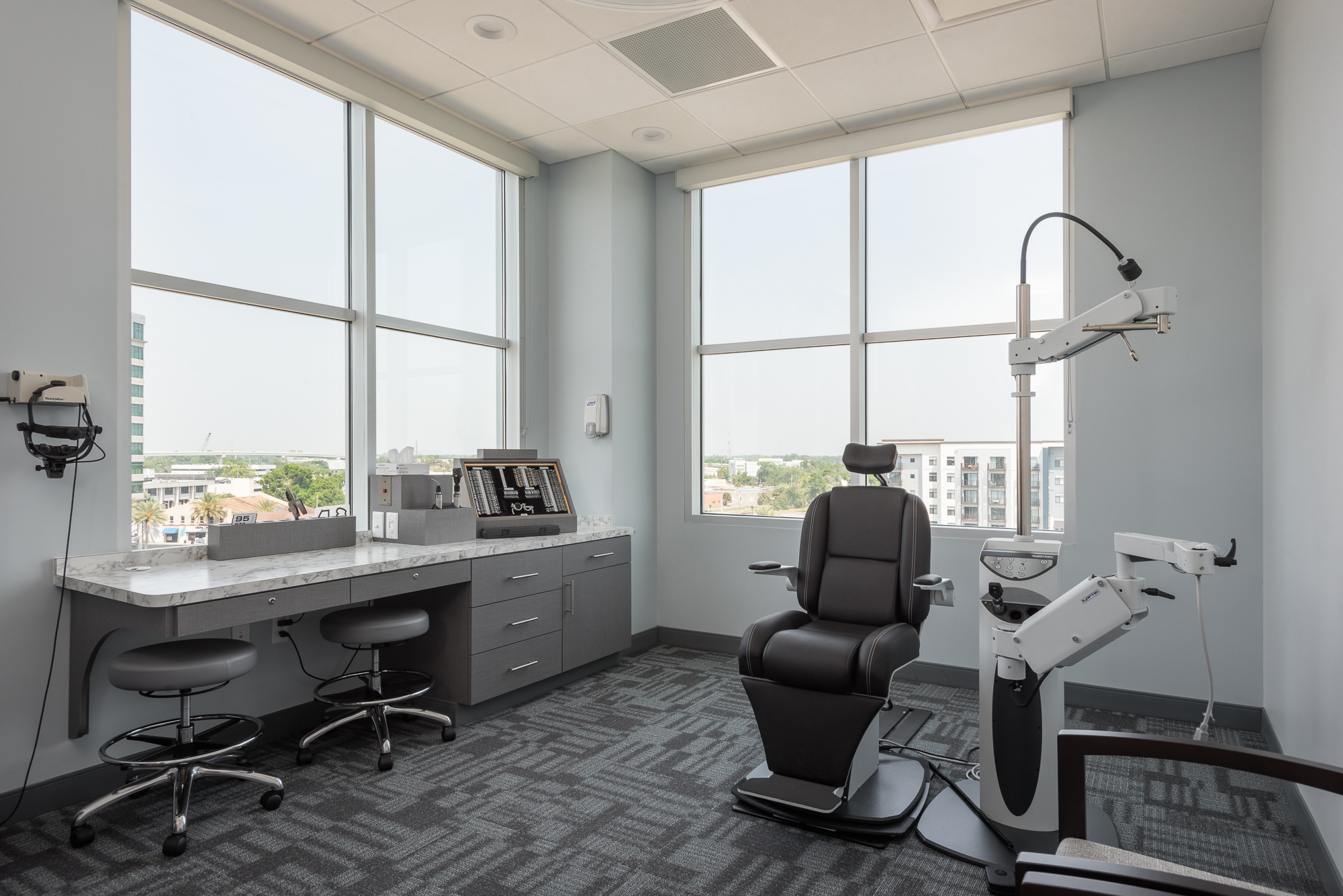 Micamy Design Studio_Interior Design_Pediatric Eye Consultants_North Florida_Riverside_Ophthalmology_Strabismus_Commercial_Office_Medical_Eye Care_Renovation_Patcraft_Patient_Exam Rom.jpg