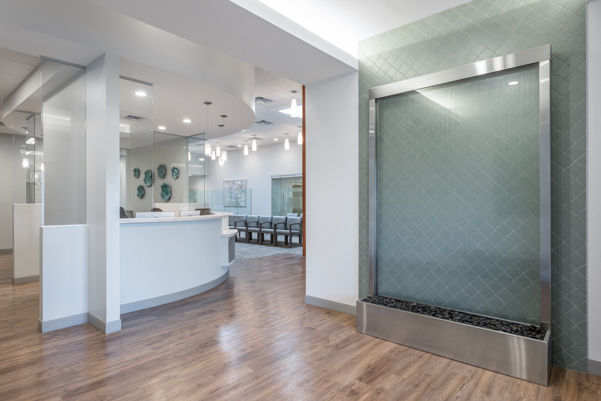 Micamy Design Studio_Interior Design_Faben Obstetrics and Gynelcology_North Florida_Riverplace_San Marco_Healthcare_Office_Medical_Trwobridge_Reception_Patcraft_Waterfall_Entry.jpg