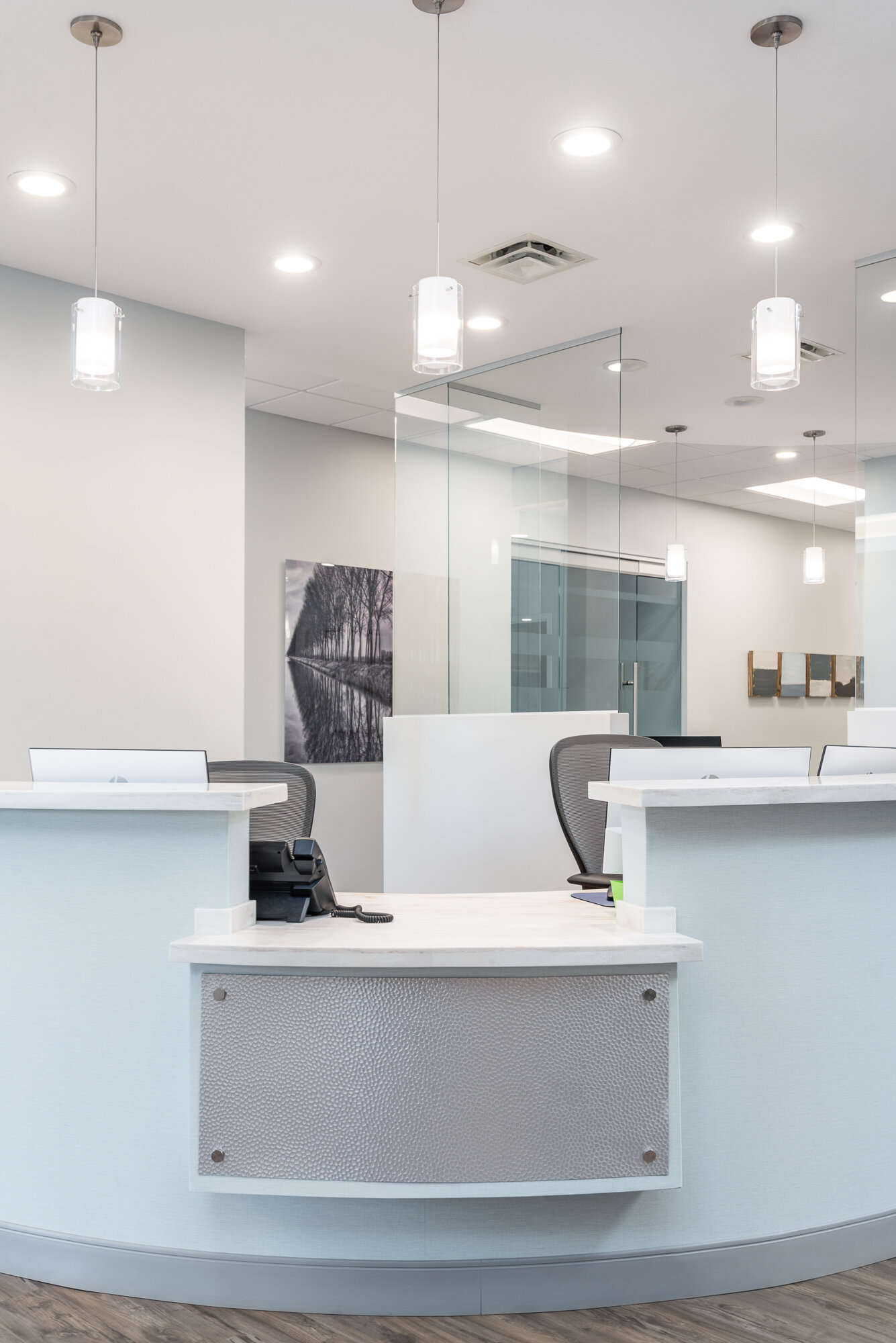Micamy Design Studio_Interior Design_Faben Obstetrics and Gynelcology_North Florida_Riverplace_San Marco_Healthcare_Office_Medical_Trwobridge_Reception_Patcraft_Waterfall_Entry (3).jpg