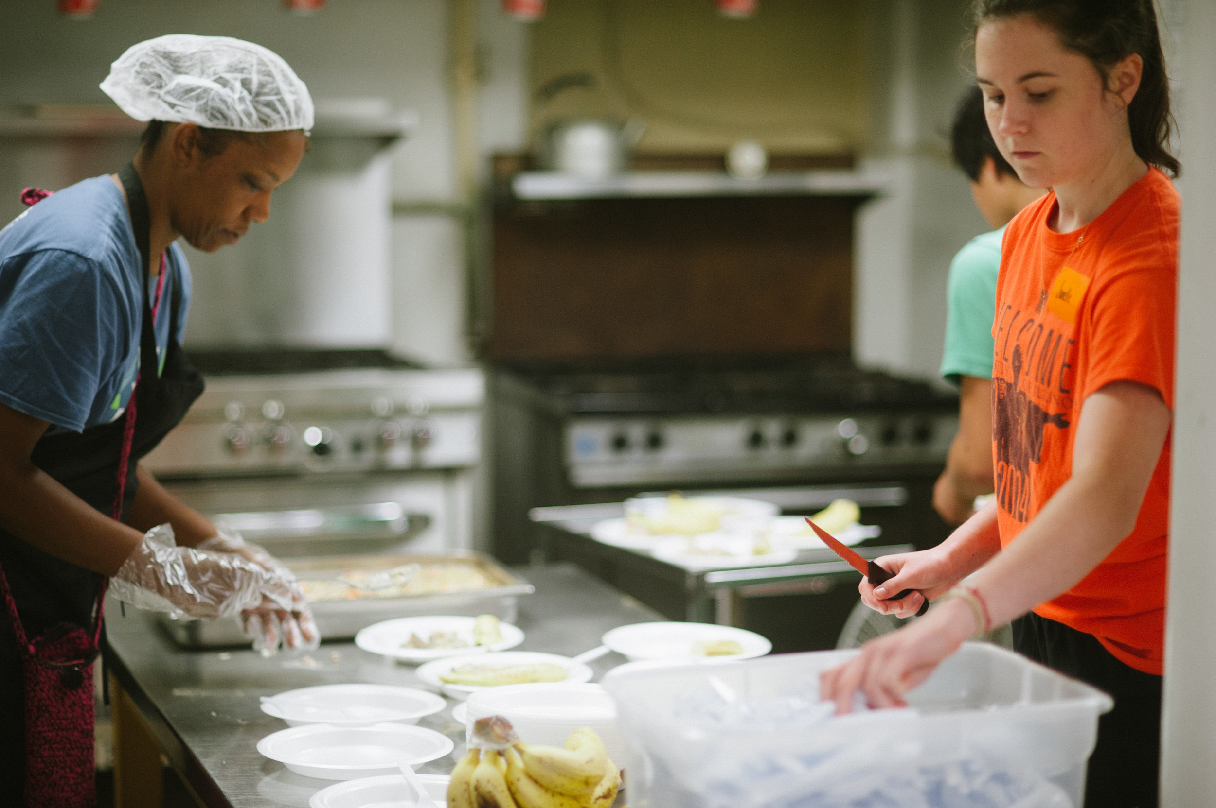 Play Food Team - Pick an open slot to serveServe dinner to children in our after school programs.