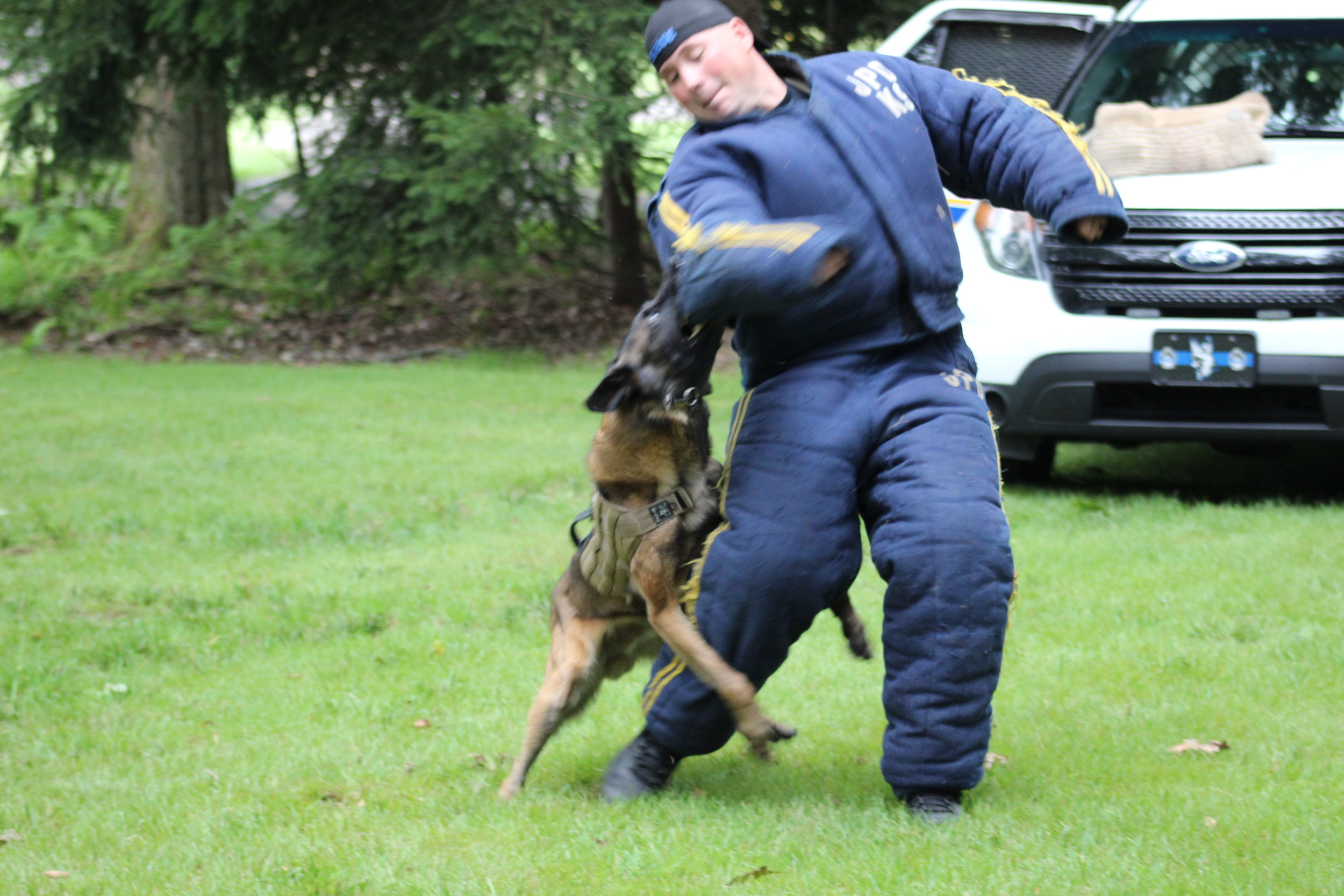 K9 Demo - by Johnstown Police Dept.