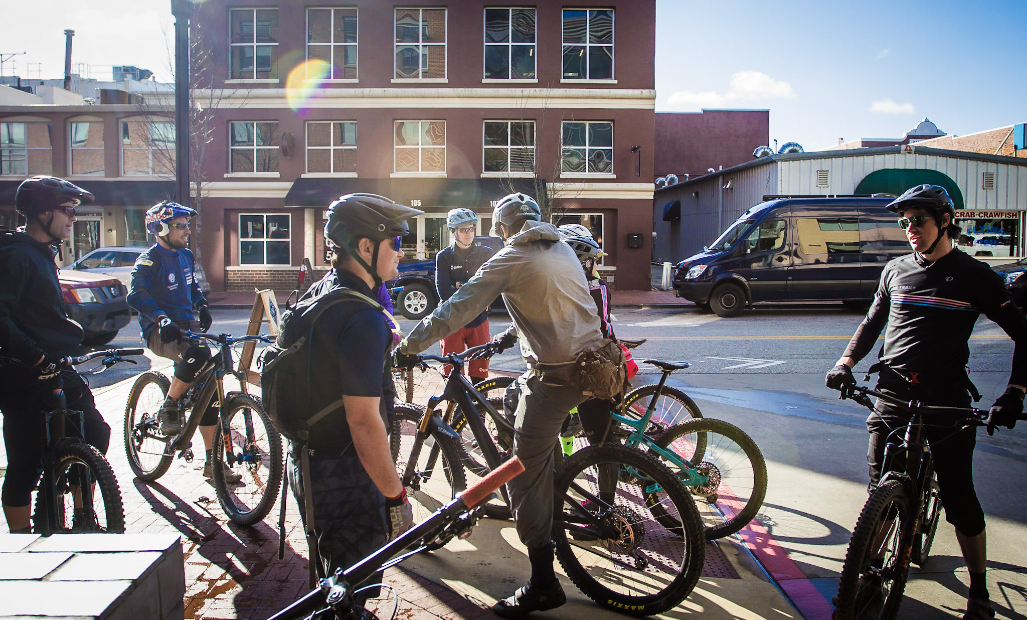 World class riding! - So much can happen when a curated group of like-minded, passionate people gather together. Develop meaningful connections with others during the eBike demos, bike rides, scavenger hunt and evening libations.