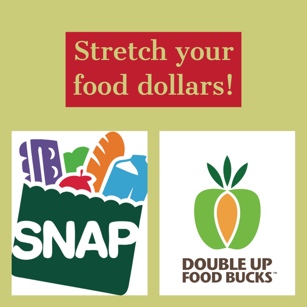 SNAP/EBT - We accept SNAP/EBT benefits market-wide, and we offer Double Up Food Bucks (up to an additional $20 per day for fresh fruits and vegetables) when you scan your EBT card at the Winter Farmers' Market. This project is funded under a grant contract with the State of Tennessee.