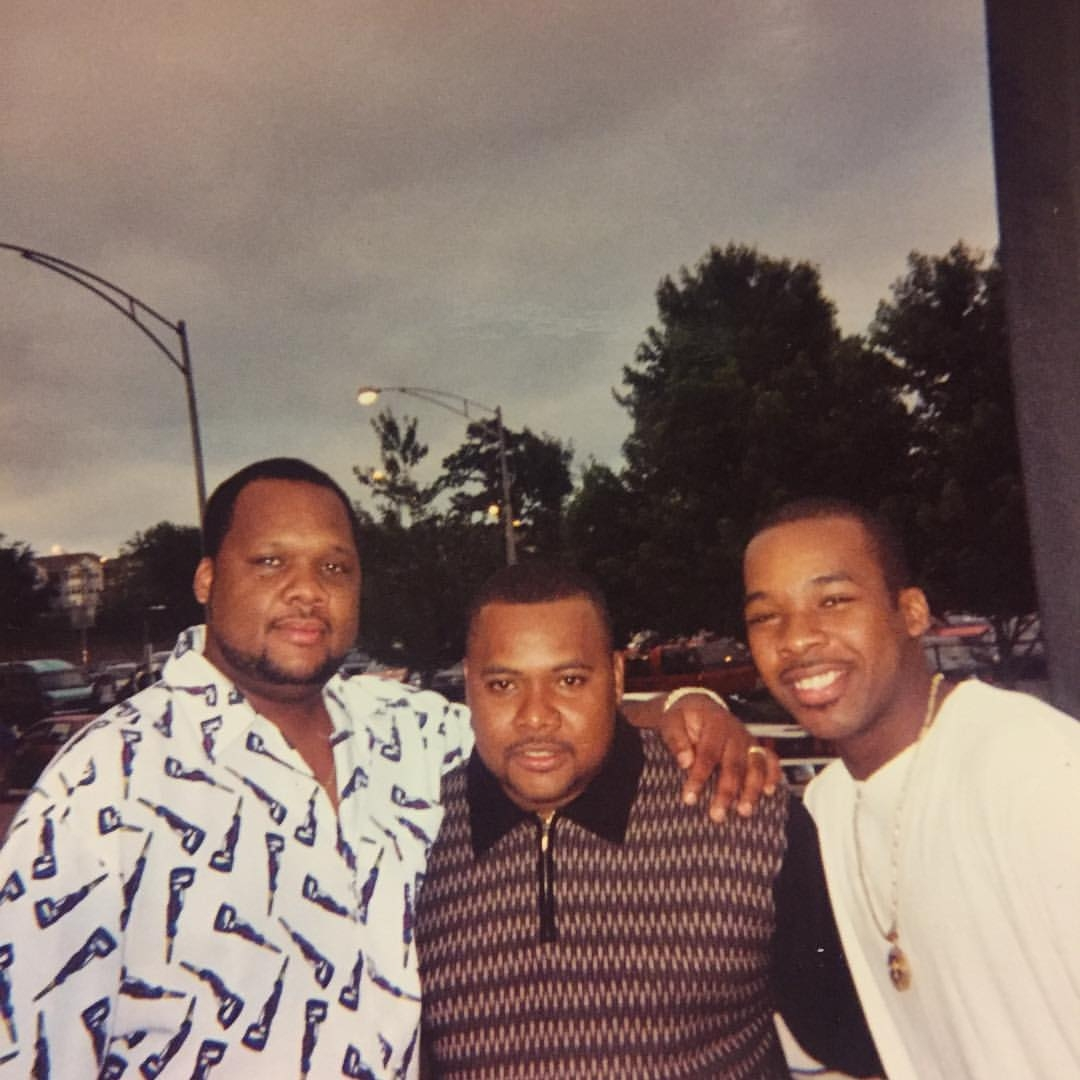 Terrel Williams (pictured, right) with his brothers. Courtesy of Terrel Williams.