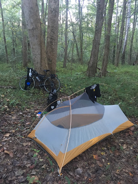 I perfected my stealth camping skills on this trip