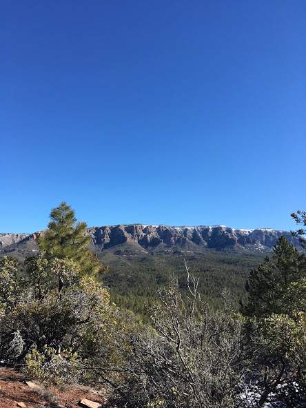 The Mogollon Rim separates the hard from the really hard on the AZT