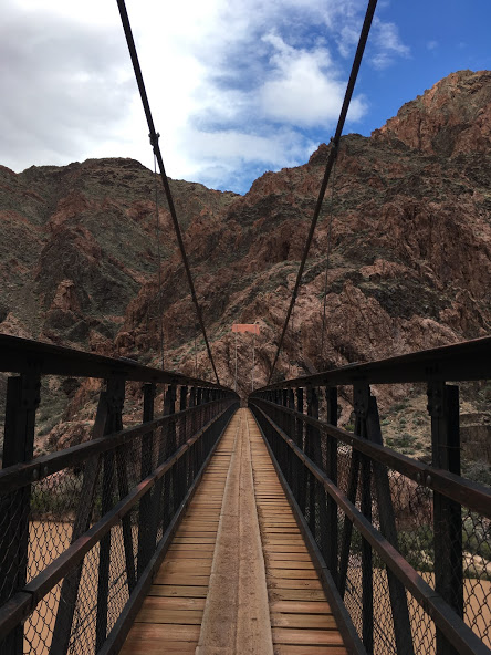 Bridge over the Colorado in the big ditch; third time crossing this river for me