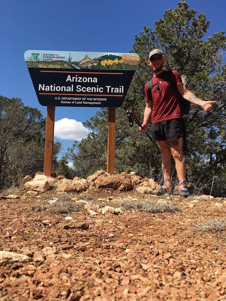 Very very very proud to be an AZT thru hiker