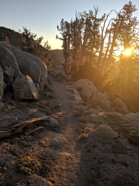 Hike with the sunrise every day