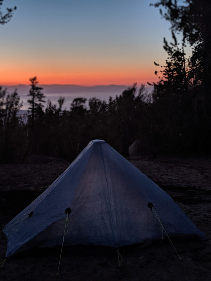 Second tent sunset photo because I don't care