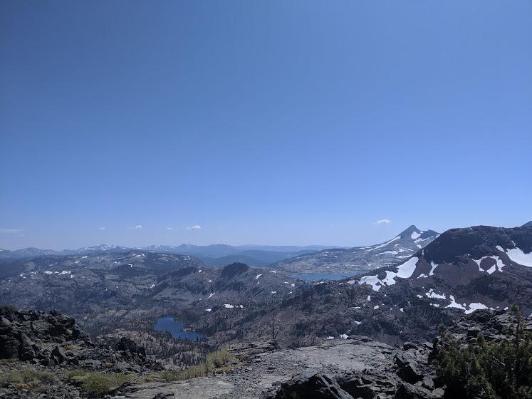 Sierra passes have good views