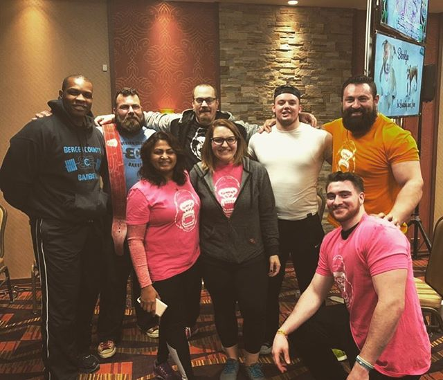Having a basic white girl moment because I. LITERALLY. CANT. EVEN. tell you how proud I am to call myself a coach for such a hardworking group of individuals.. @bergencountybarbell rolled deep and had 8 people competing this past weekend at the @rps_powerlifting North American Championships. For five of them, it was their first meet, EVER, and everyone killed it. Walked away with five 1st place trophies, one second place trophy, one 3rd place trophy AND ☝🏼best lifter award. Some didn't hit all the numbers they wanted, but overall- 21 PRs were hit over the course of the weekend ....so you could probably say we're a big deal 😂😂 I'll let everyone talk about their own numbers, but I just needed to let the Interwebz know how proud I am of this group. They will get a couple days off and it's back to work .. time to get better *****It was also my pleasure to handle two guys who Ive come to see as family👉🏼👉🏼 @mskiba22 and @steve_lusterino275. Both competed in the #gearresurgancemeat and absolutely killed it. Mike went 2150 and Lusty went 2060 for BIG #meat PRs .. onto bigger and better boys.. #bergencountybarbell #whybenormal #bergencountypowerlifting #bergencountystrong #northjerseystrong #jerseystrong #strong #wedoitourway @nj_hulksmash84 @tobykindalifts @martin @millerjesse_ @mskiba22 @steve_lusterino275 @ghafemeister @tharris1497 @x_miss_kris_x @tinydynamit8 @bergencountybarbell @rps_powerlifting @hellbent_barbell