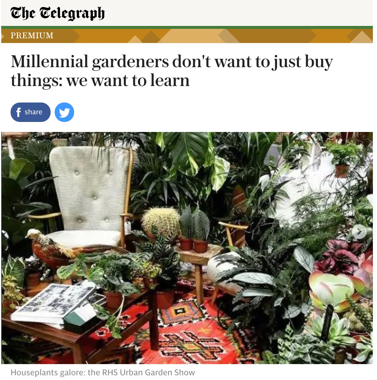 The Telegraph October 2018