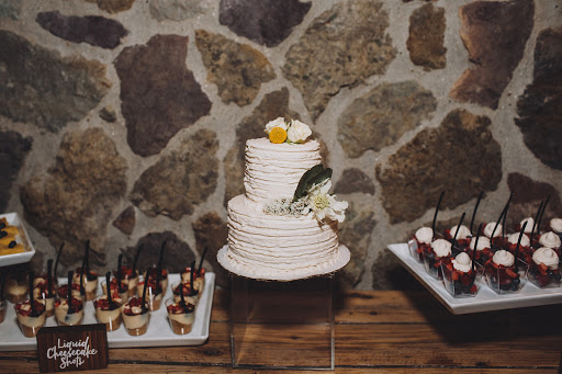 rustic dessert table simple cake mini desserts.jpg