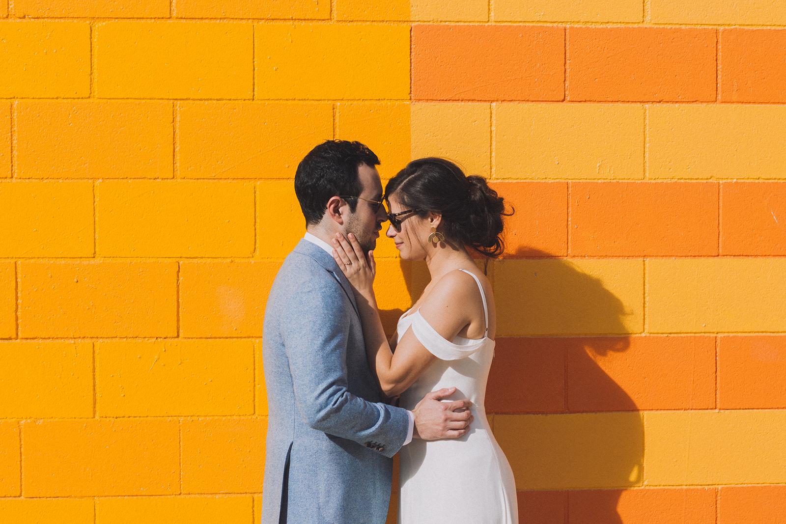 Bride and groom sunglasses painted mural ace palm springs.jpg