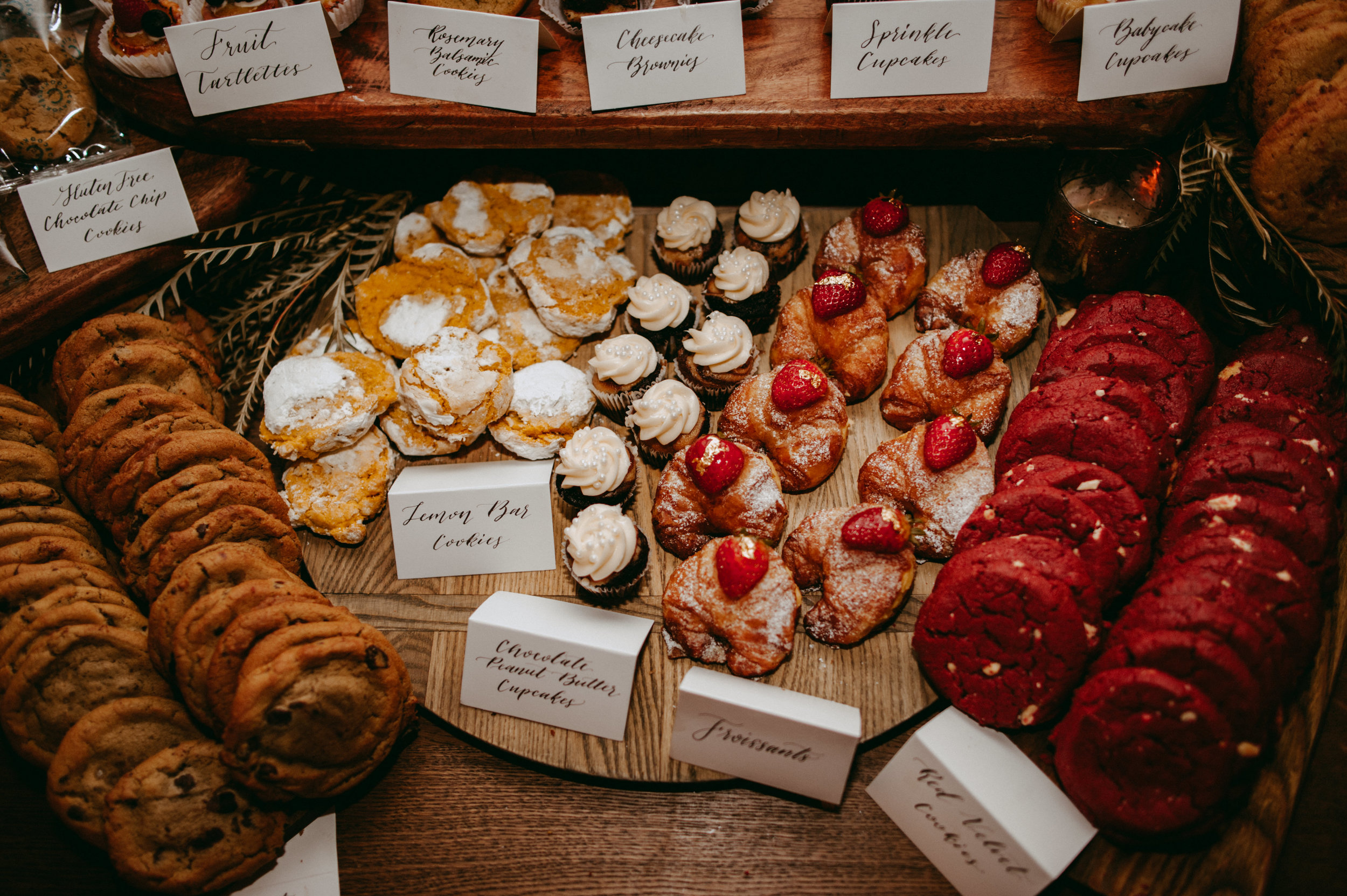 san diego dessert table