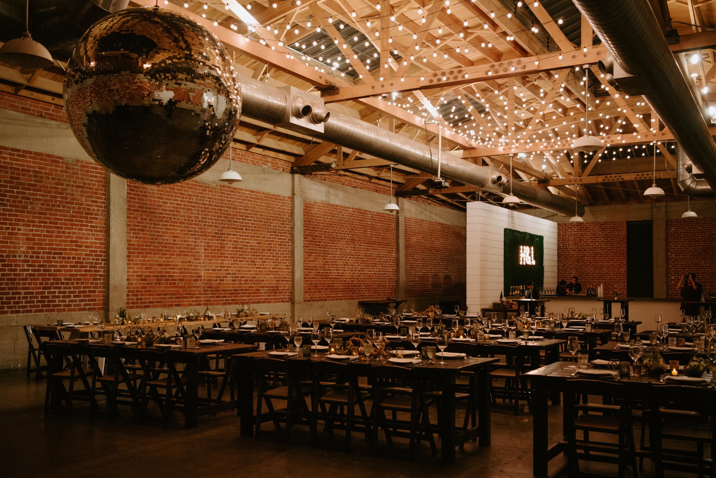 sandbox venue wedding reception