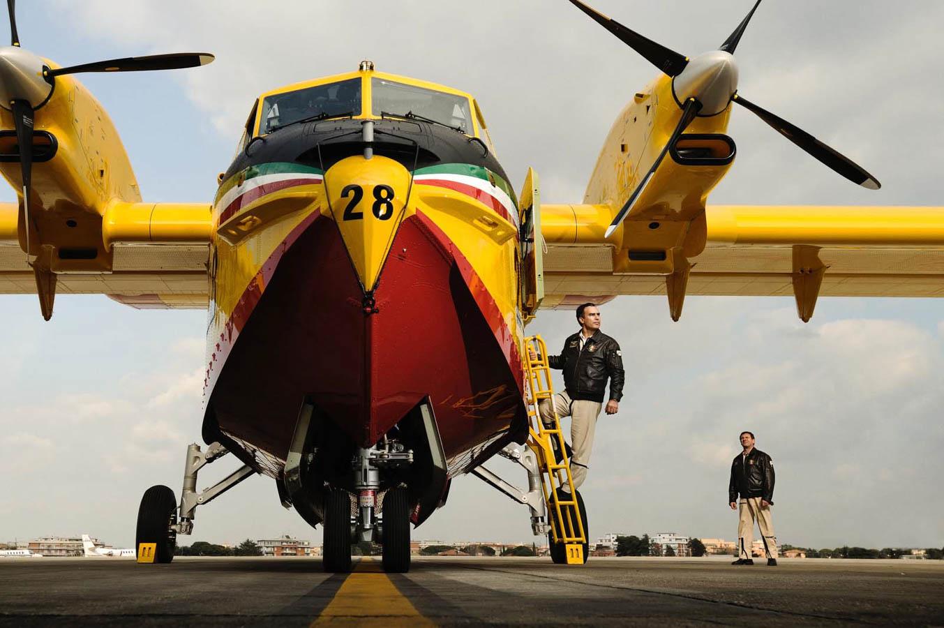 Canadair - Ciampino - Protezione Civile