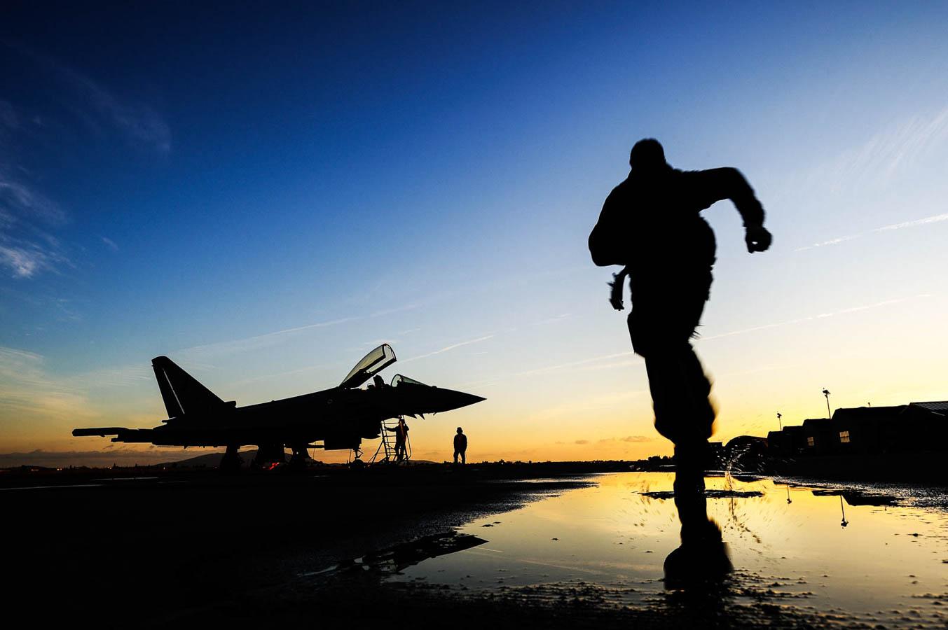 Eurofighter scramble - 4° Stormo Grosseto - Aeronautica Militare