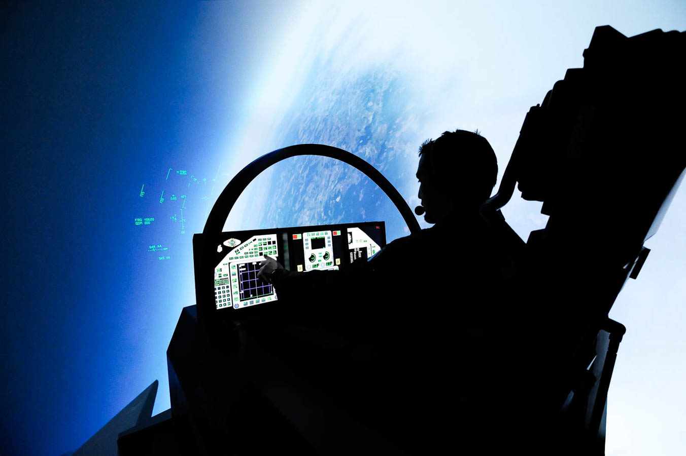 Eurofighter Simulator - 4° Stormo Grosseto - Aeronautica Militare