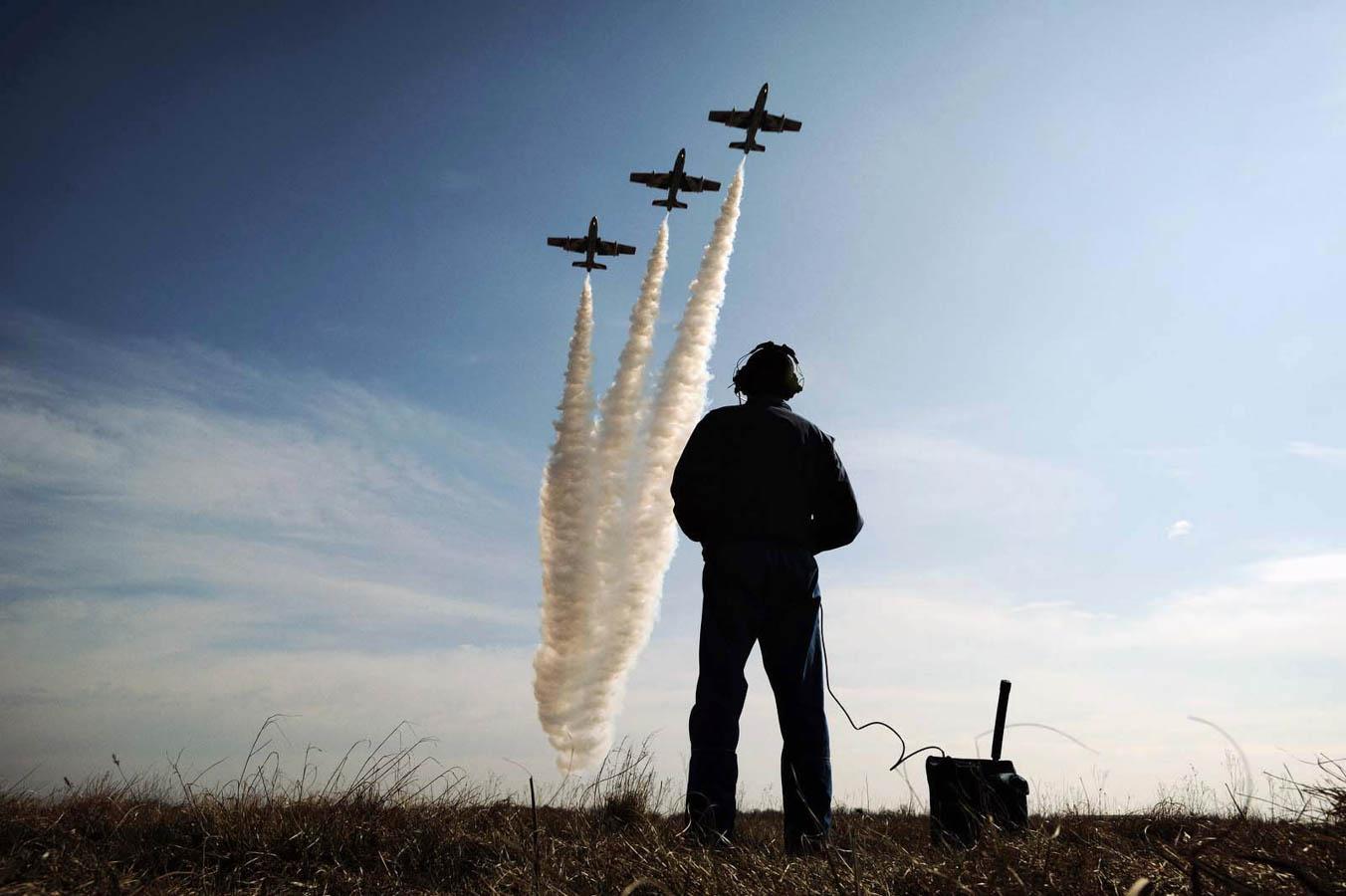 PAN Frecce Tricolori - 313° Gruppo Rivolto - Aeronautica Militare