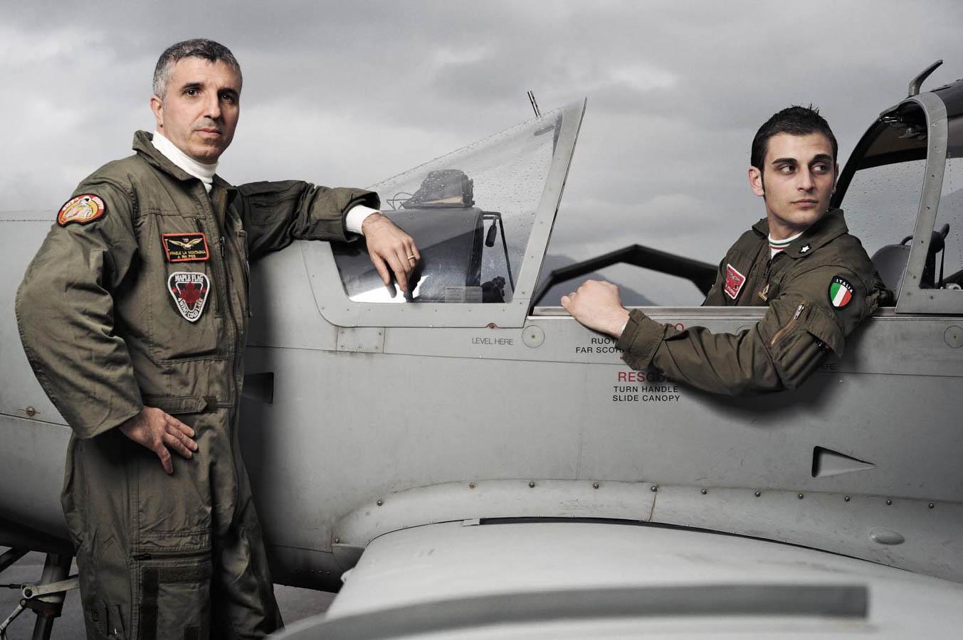 SF-260 - 70° Stormo Latina - Aeronautica Militare