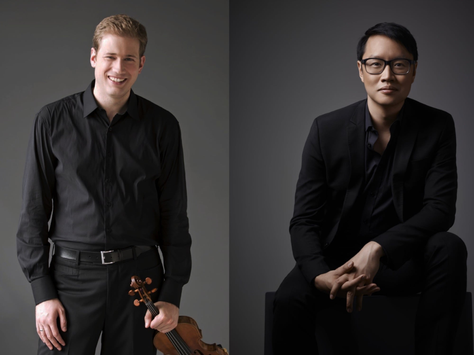 """A TRIBUTE TO YEHUDI MENUHIN Jonathan Crow, violinPhilip Chiu, piano - April 25, 2020 - 3pmToronto Symphony Orchestra Concertmaster and BC-born violinist Jonathan Crow and his recital partner, pianist Philip Chiu, present a powerful and moving tribute to one of the legendary superstar violinists of the 20th century and internationally-renowned humanitarian, Yehudi Menuhin (1916 – 1999).Menuhin filled concert halls around the world for decades. During WWII, he gave an astonishing 500 concerts for wounded servicemen, Allied troops, relief organizations, and at liberated concentration camps, risking his own life on many occasions to bring joy and hope to others through music.In this very personal concert, Crow and Chiu perform some of the pieces that Menuhin brought to wartime Europe, including Beethoven's Violin Sonata No. 9 in A Major, Op. 47 (Kreutzer Sonata), Corelli's La Folia, Ravel's fiery Tzigane and showpieces of Fritz Kreisler. Menuhin himself was the conductor when Jonathan made his concerto debut with Victoria Symphony Orchestra.""""Both pieces show off everything a violinist can do, and both Crow and Chiu did so with pose and polish.""""- MUSICAL TORONTO"""