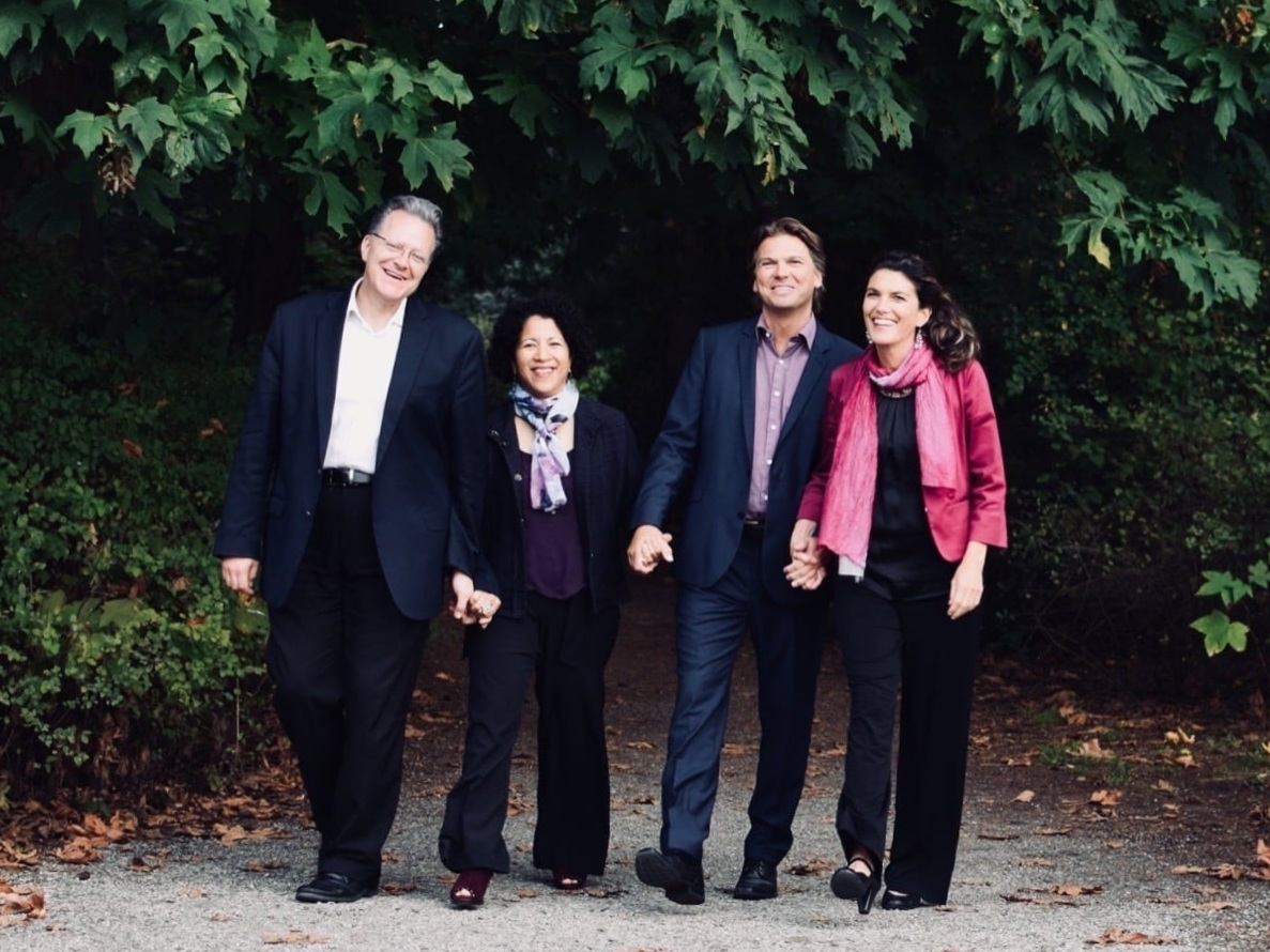 Pianopoly with The canadian piano quartet - October 10, 2019 - 10:30amThe Canadian Piano Quartet (Anne Louise-Turgeon, Edward Turgeon, Elizabeth and Marcel Bergmann) join together in a playful pianistic display featuring works for multiple pianists.Both duos are laureates of the Dranoff International Two Piano Competition and have enjoyed collaborating over the years at various festivals and on tour. They will explore a range of delightful and familiar repertoire, with works by Saint-Saëns, Bach, Rossini and Gershwin.