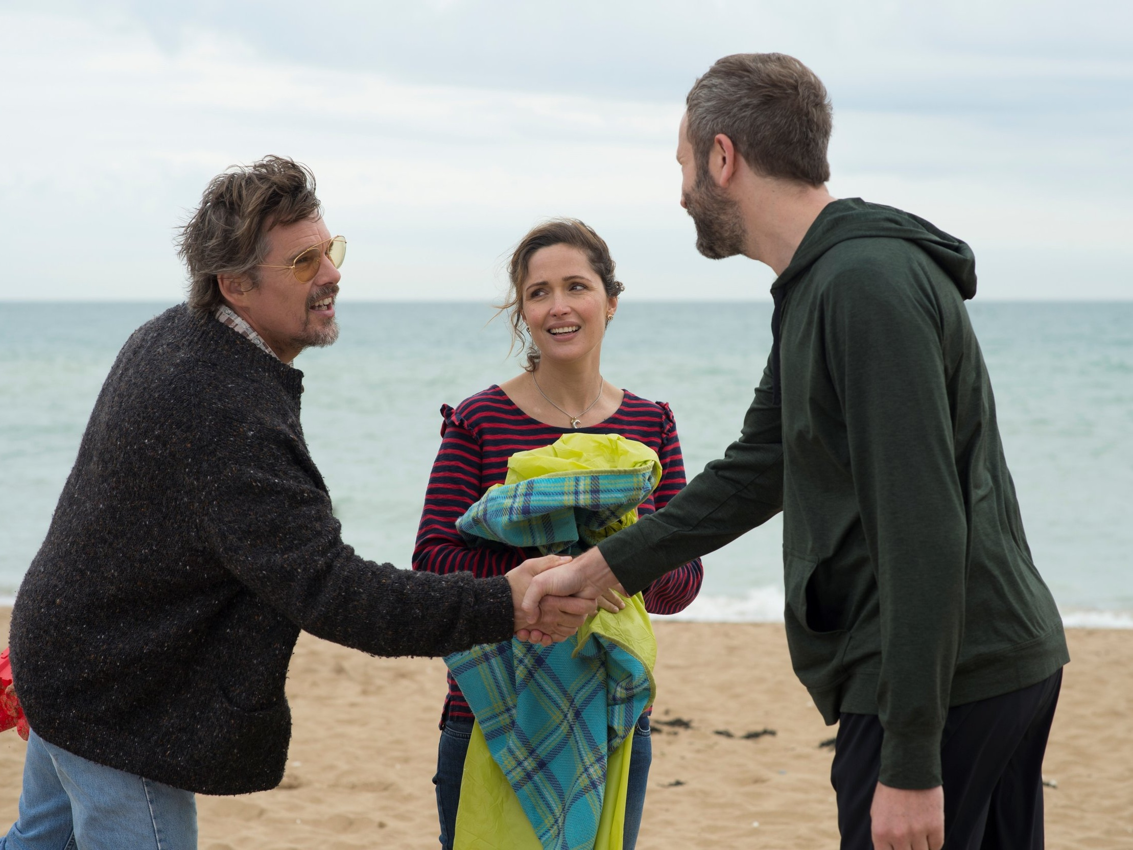 Juliette, Naked - August 10, 2019 - 3pmAnnie (Rose Byrne) is stuck in a long-term relationship with Duncan (Chris O'Dowd) - an obsessive fan of obscure rocker Tucker Crowe (Ethan Hawke). When the acoustic demo of Tucker's hit record from 25 years ago surfaces, its release leads to a life-changing encounter with the elusive rocker himself. Based on the novel by Nick Hornby (About a Boy, High Fidelity), Juliet, Naked is a comic account of life's second chances.PG | 98 min