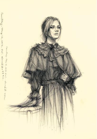 Lou Ann Burkhardt  Courtney  , 2013 Giclée print available Size and price options vary