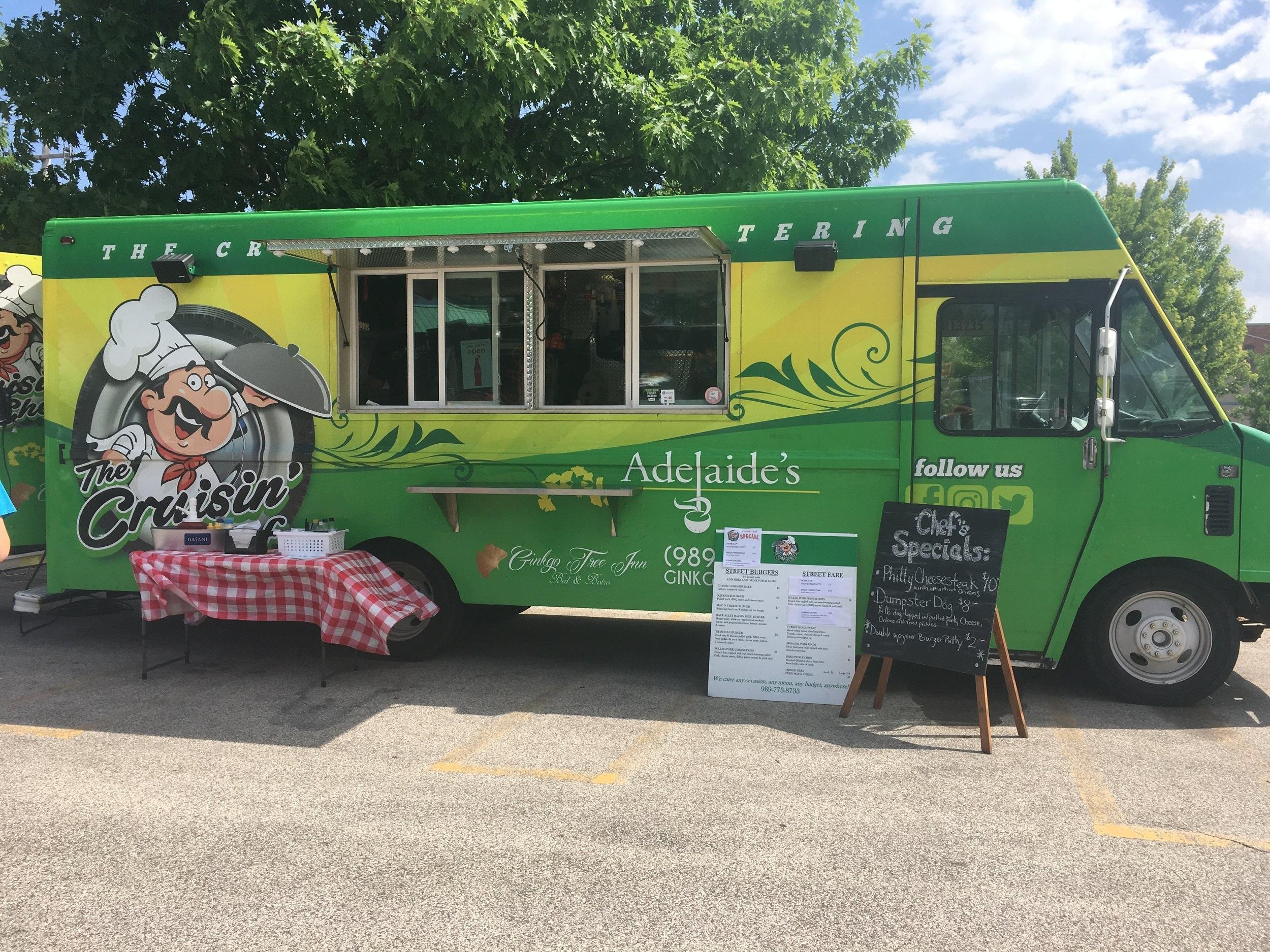 Food Truck at Midland Farmers Market