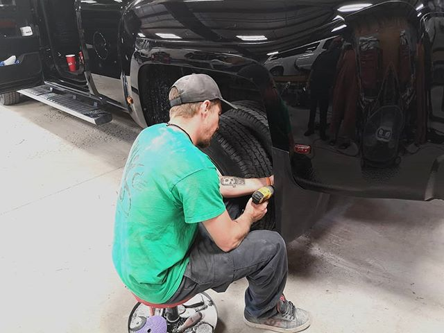 Finishing up a few repairs before we can enjoy the weekend. 🎉