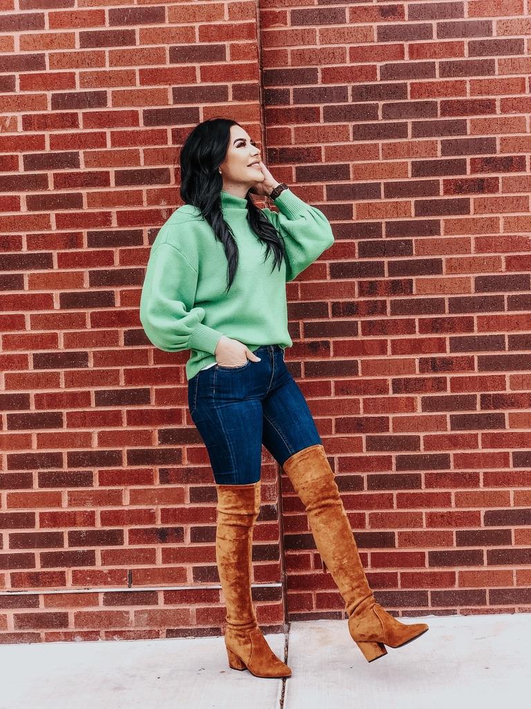 Running In Stilettos Blog - Suede + Green