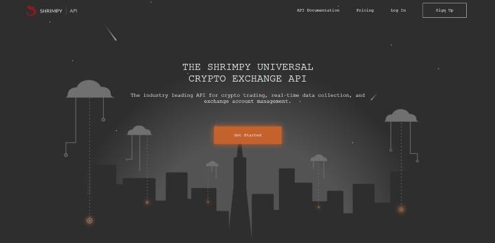 Shrimpy Developer Homepage.png
